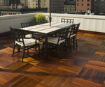 ipe decking and tiles