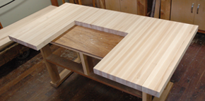 3 piece maple countertop