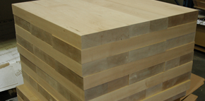 maple stair treads