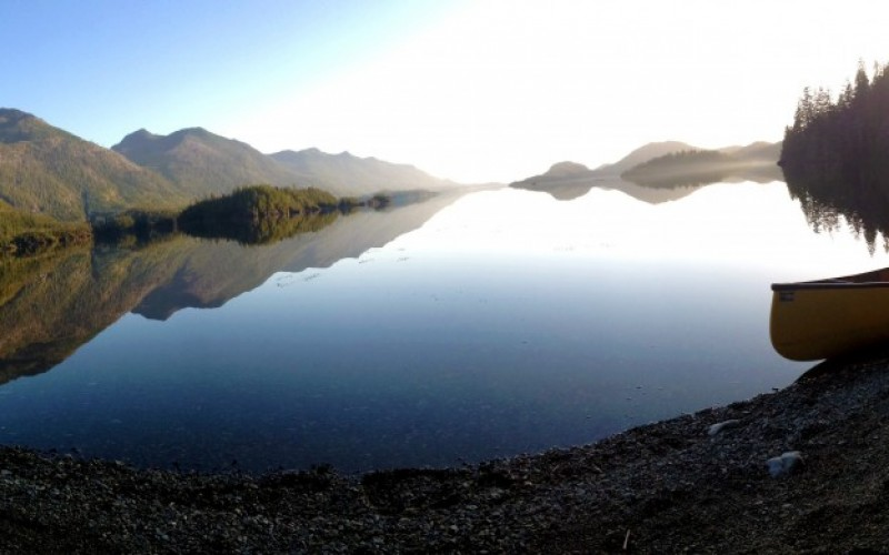 Camping In Clayoquot Arm