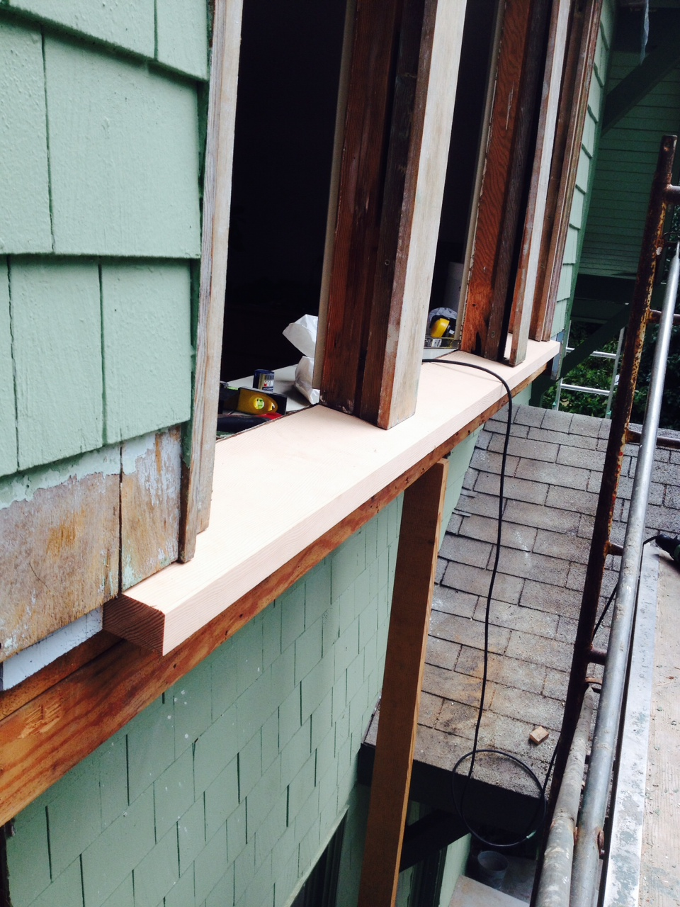 Old window sill replacement west wind hardwood for Window sill replacement