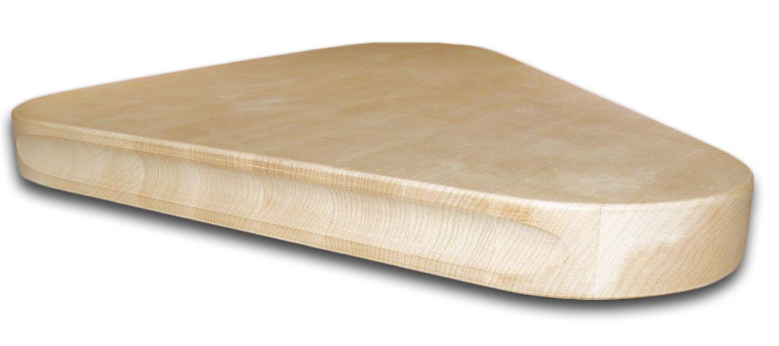 shaped butcher block