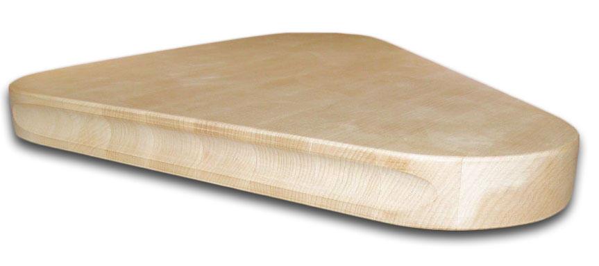 shaped butcher block