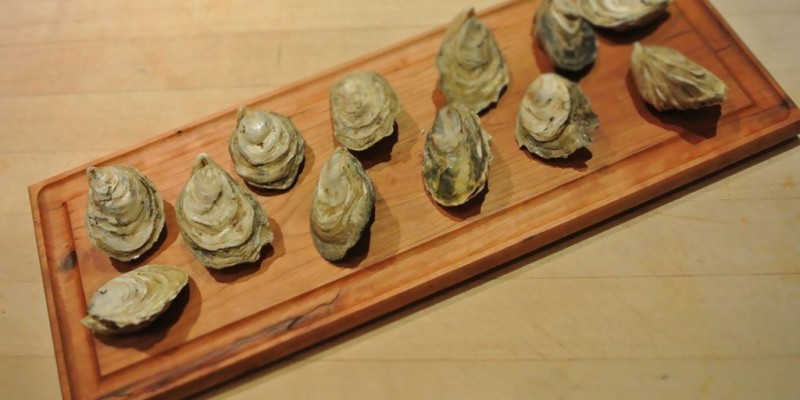 Oyster Board with Groove