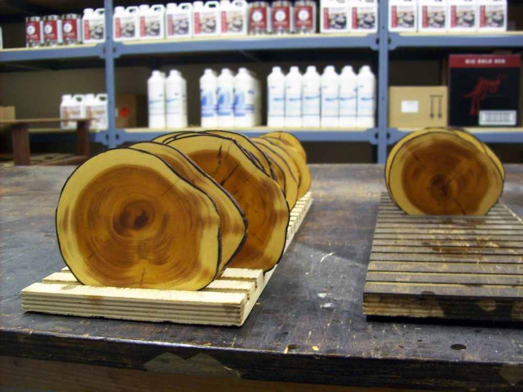 yew-coasters-oiled