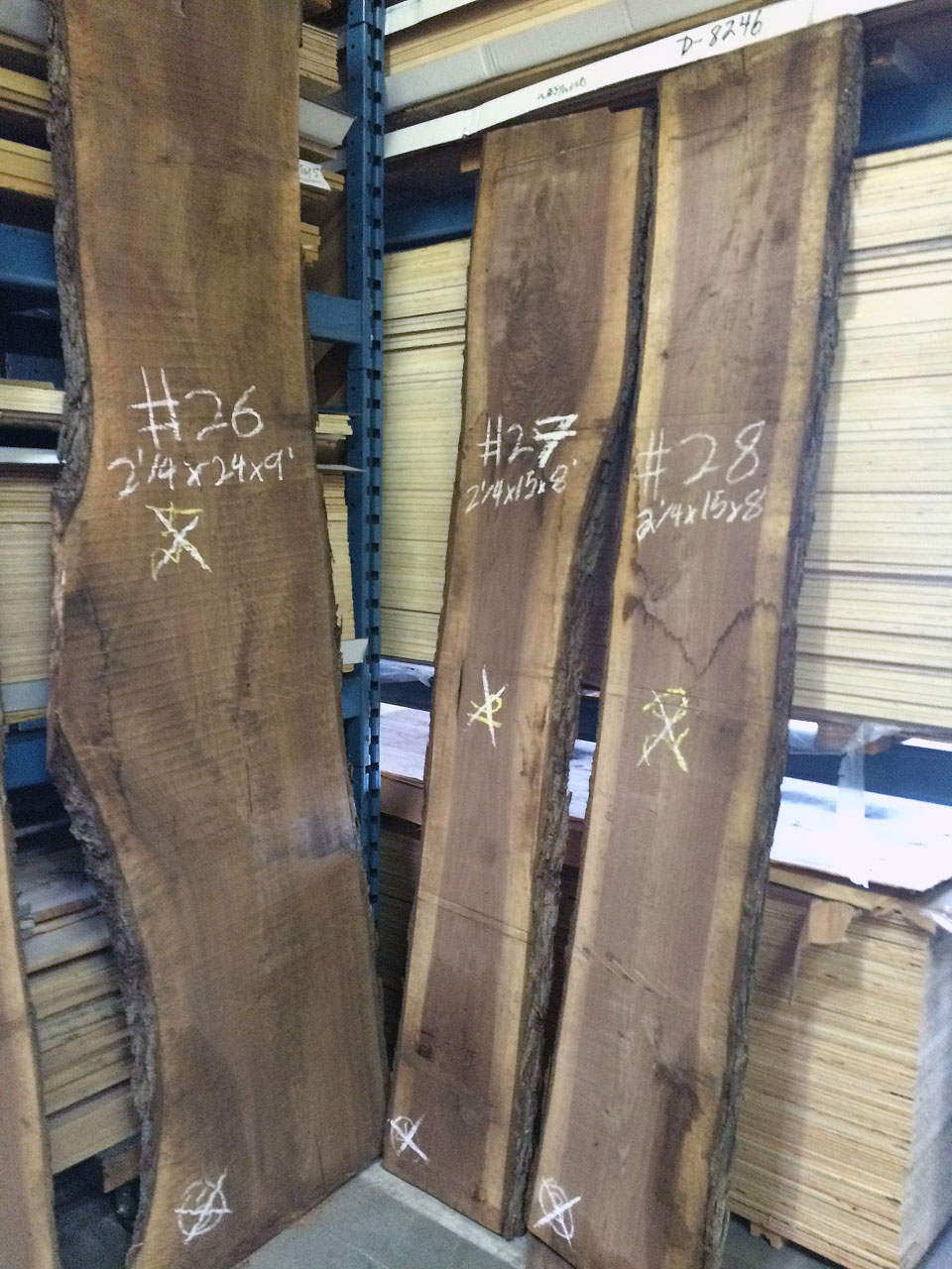 Live Edge Black Walnut Slabs West Wind Hardwood