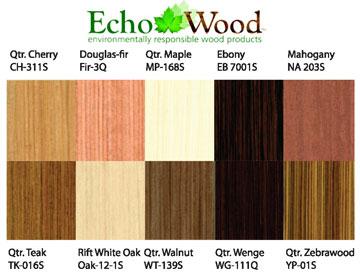 Echo Wood Veneers West Wind Hardwood