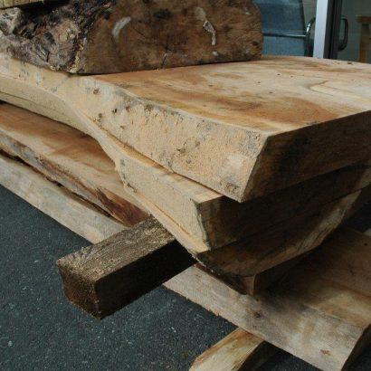 live edge elm slabs