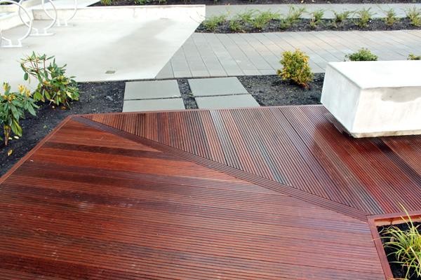 ipe grooved decking