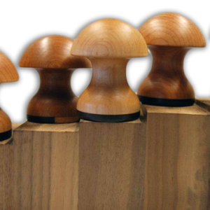 wooden garlic crushers