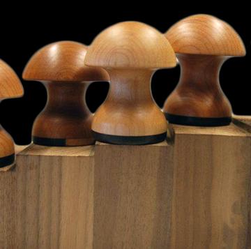 wooden garlic crushers
