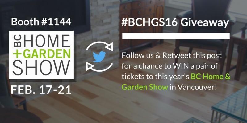 BC Home & Garden Show 2016 Contest