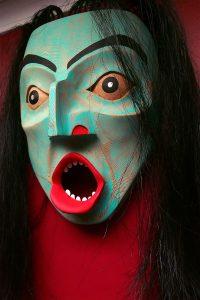 Drowned Human mask