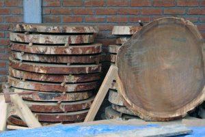 parota round slabs