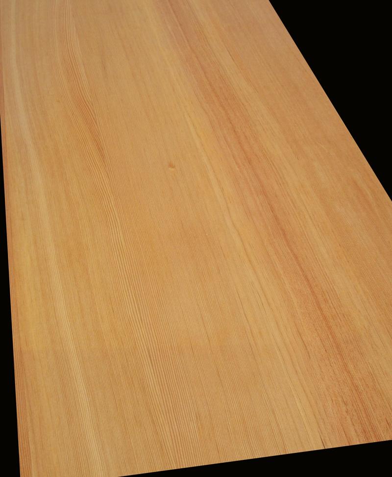 Clear vertical grain fir flooring closeup