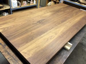 black walnut table top