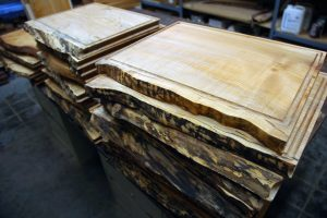 maple serving boards