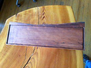 western maple serving board