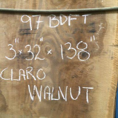 claro walnut slab dimensions