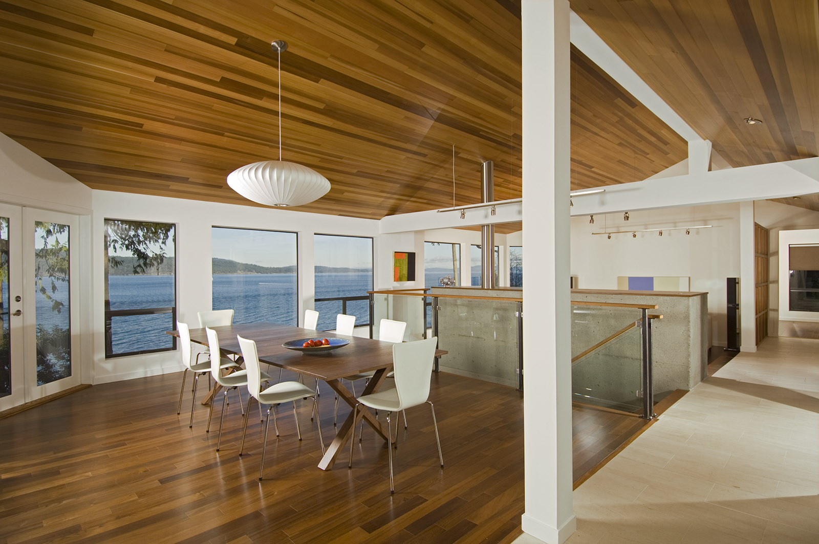 Teak Flooring - North Saanich