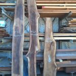black walnut live edge slabs