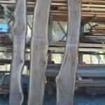 black walnut live edge slabs