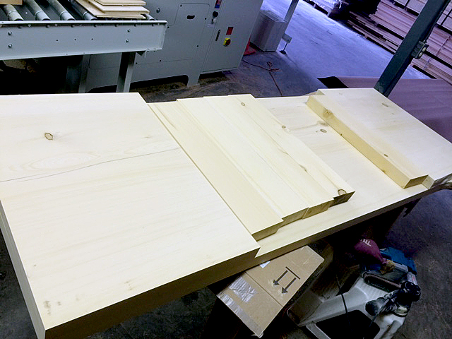 Yellow Cedar Table Top