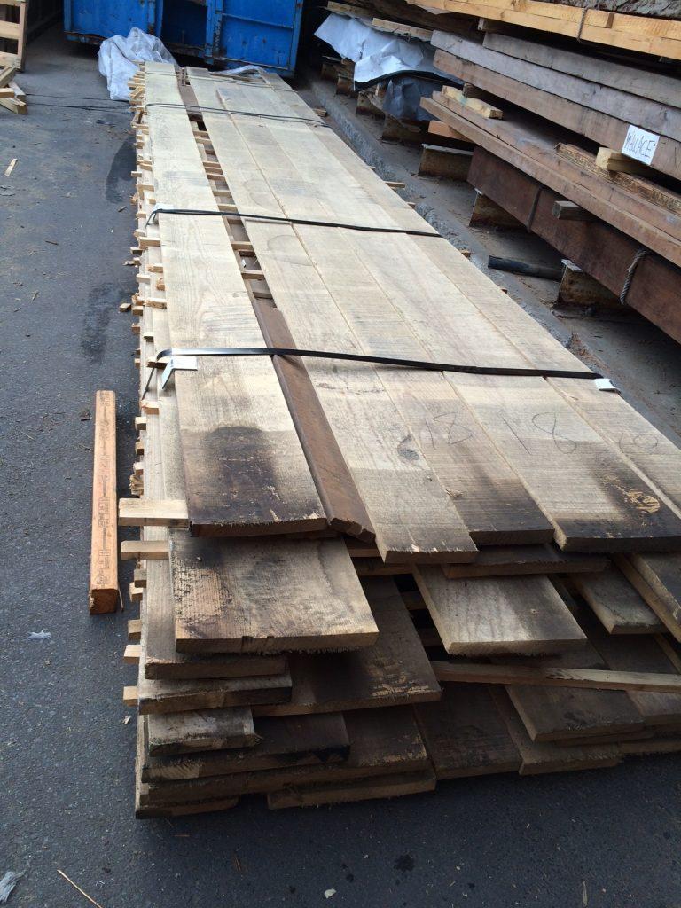 canoe ash wood