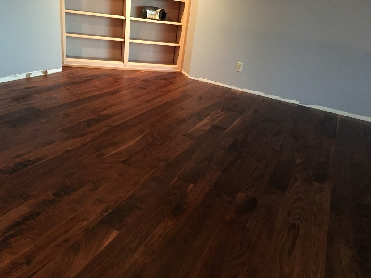 black walnut flooring Bellingham WA