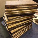 E Maple stained serving boards Tulsa OK