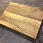 black walnut serving board