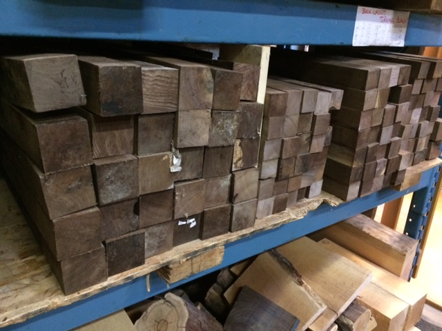 black walnut turning blanks