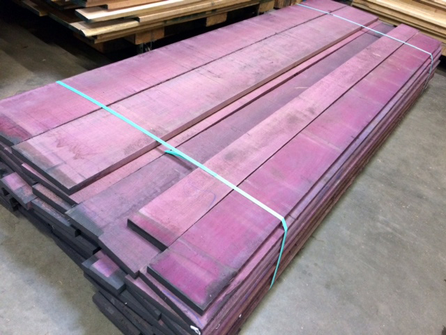 Live edge wood and specialty slabs west wind hardwood for Purple heart flooring