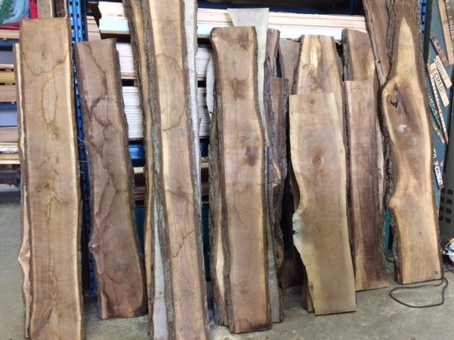 black walnut slabs