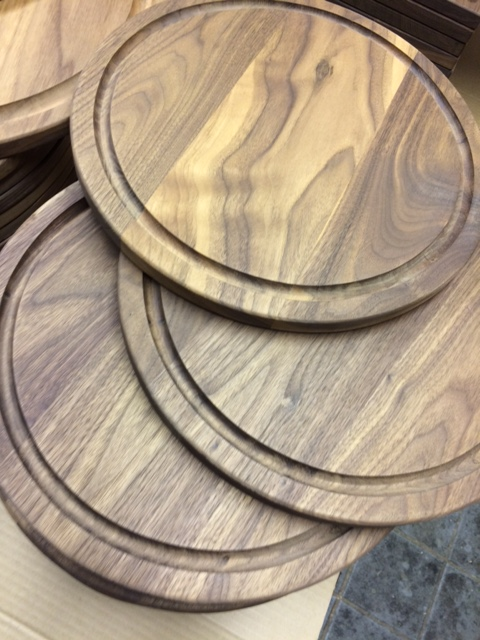 walnut round serving boards florida