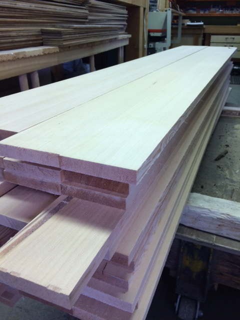 CVG Fir Glue up