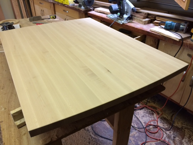 Eastern Maple Butcher Block countertop
