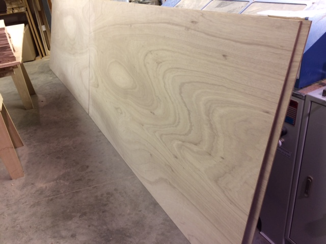 scarfed marine plywood
