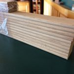 red oak slats