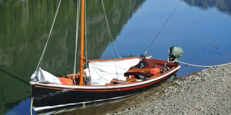 For Sale: 14 ft Lapstrake Sailing Daysailer