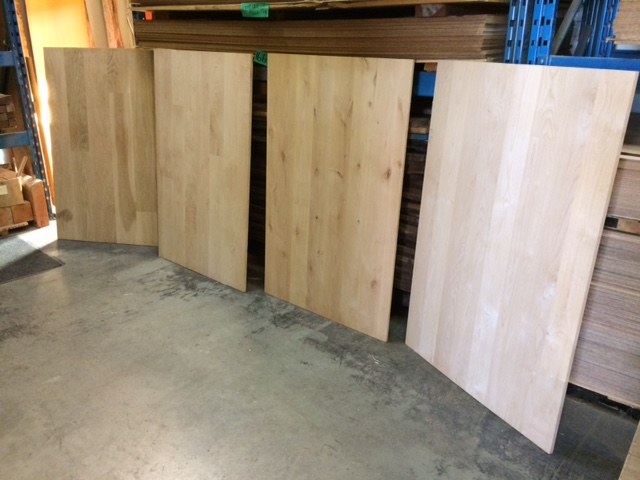 wood panels table tops