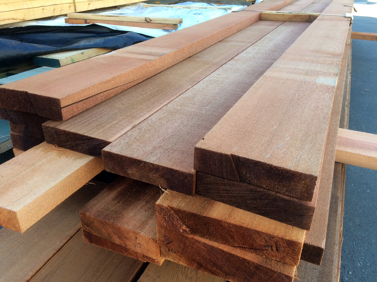 Old Growth Red Cedar for Boat Building! | West Wind Hardwood