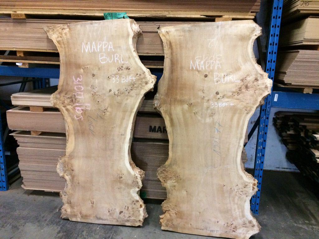 mappa burl slabs