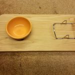 Taco and Chip recess serving board