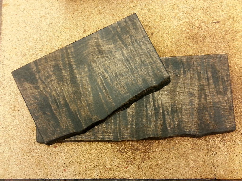 Western Maple Wenge Stained serving boards