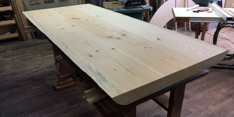 Douglas Fir Tabletop – Ready for install!