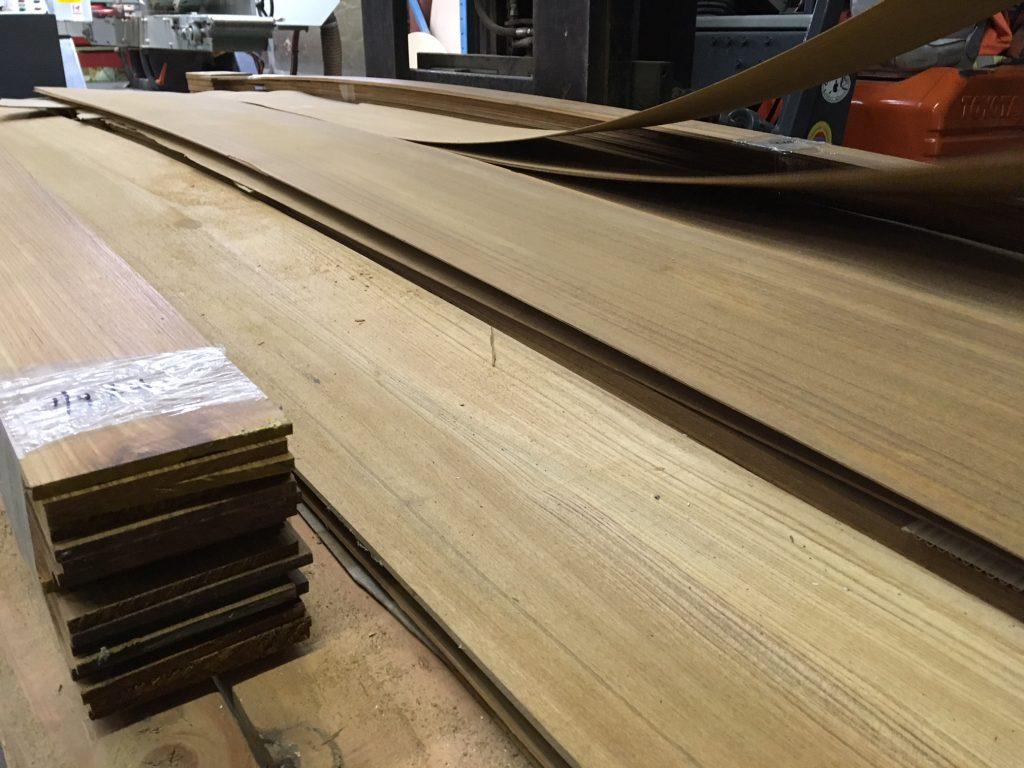 New teak lumber and raw veneers west wind hardwood