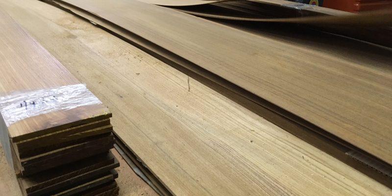 New Teak Lumber and Raw Veneers