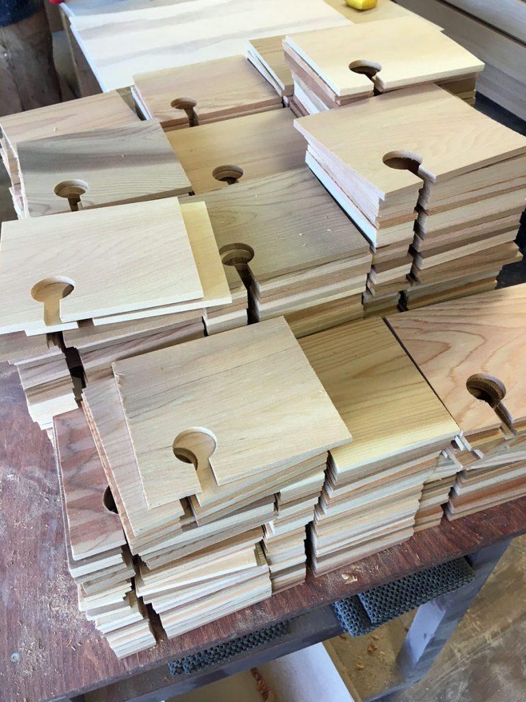 red cedar appetizer boards