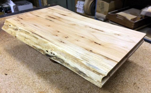 western maple charcuterie board